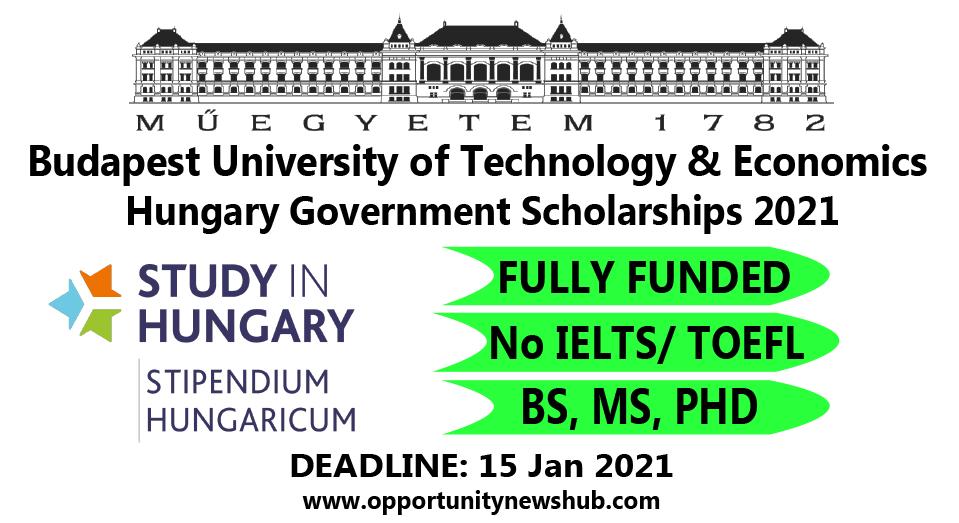 Budapest scholarship