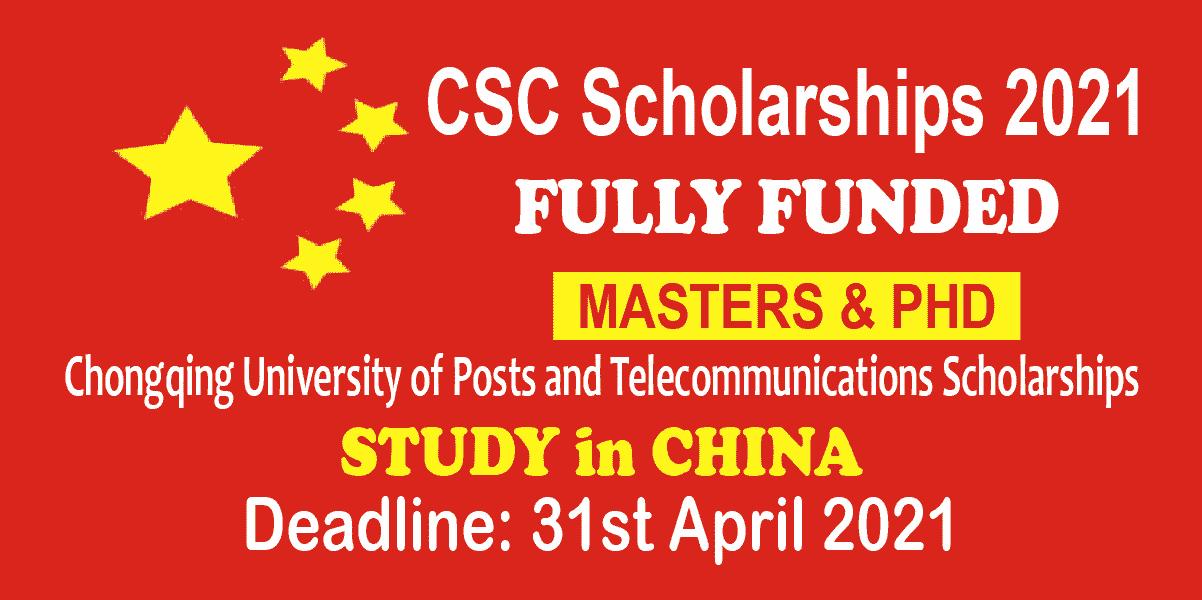 CSC scholarships 2021