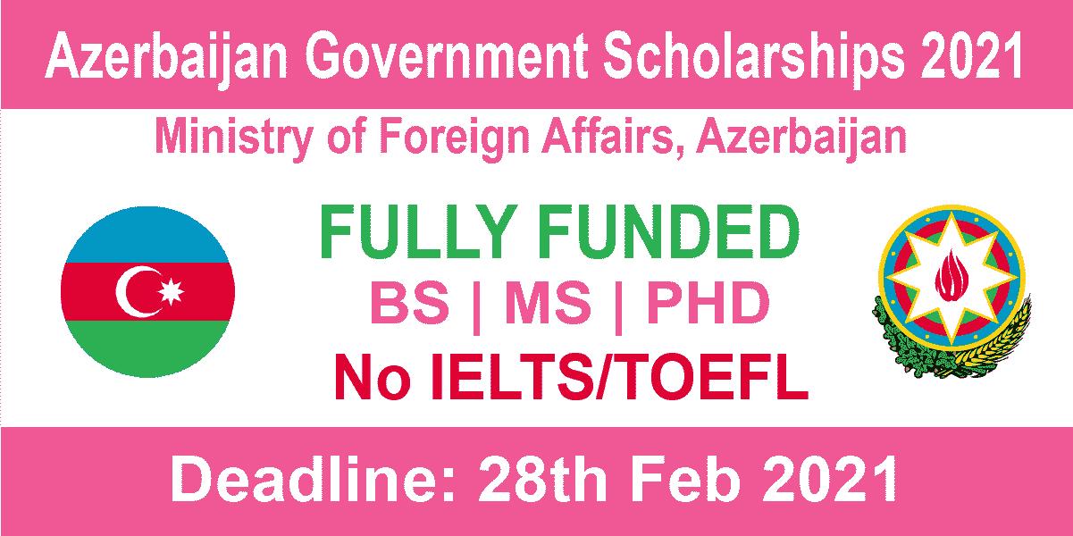 Azerbaijan Government Scholarships