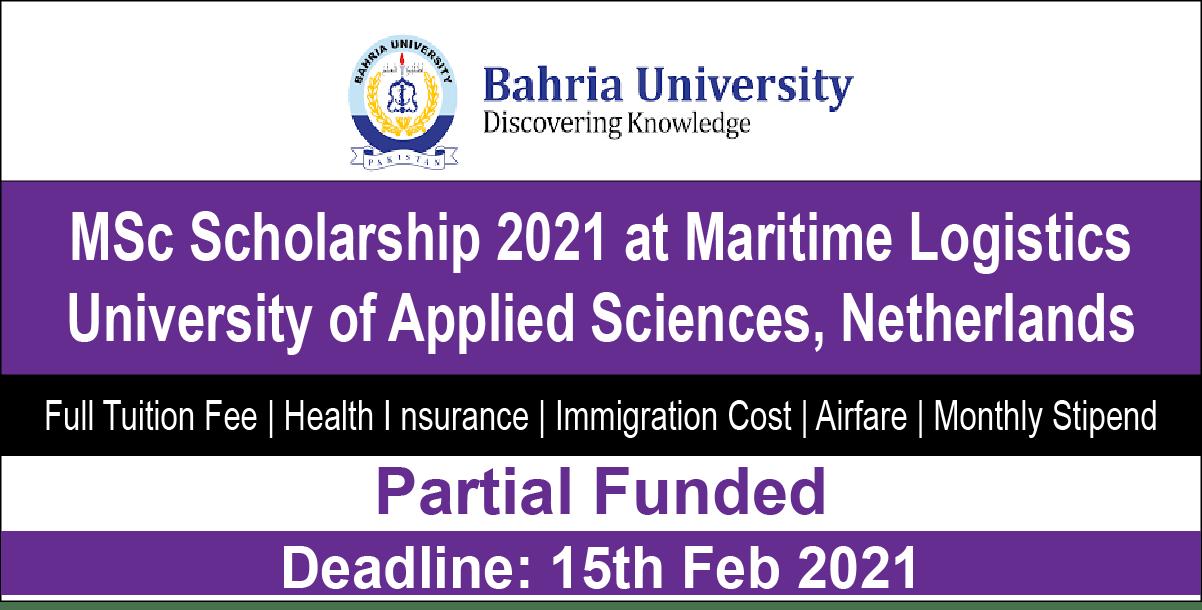 Bahria University-MLU-OAS Scholarship