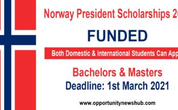 Norway President Scholarships