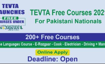 TEVTA Free Courses