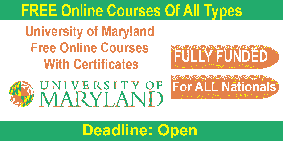 University of Maryland Online Course