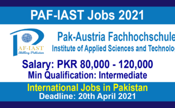 PAF-IAST Jobs