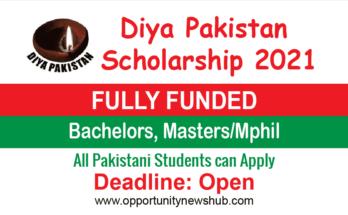 Diya Pakistan Scholarship