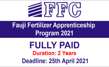 Fauji Fertilizer Apprenticeship Program