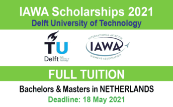 IAWA Scholarships 2021