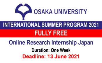 Osaka University International Summer Program