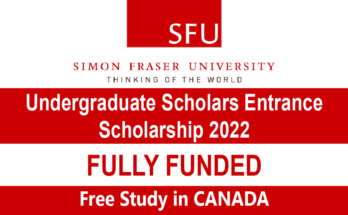 Undergraduate Scholars Entrance Scholarship