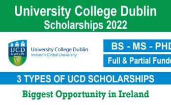 University College Dublin Scholarships
