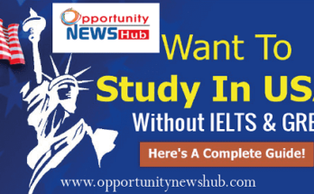 Study in USA Without IELTS & GRE