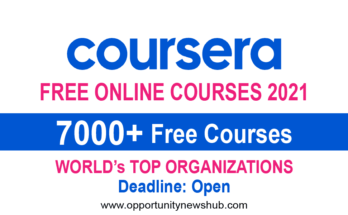 Coursera Free Online Courses