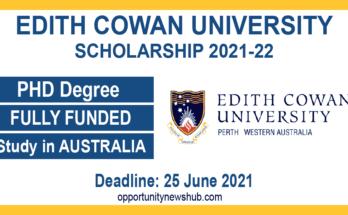 Edith Cowan University Scholarships
