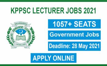KPPSC Lecturer Jobs