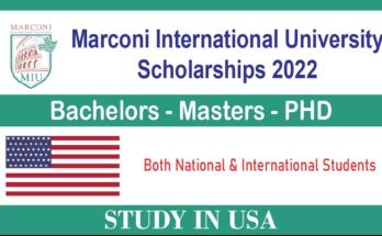 Marconi International University Scholarships