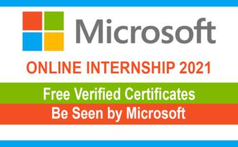 Microsoft Online Internship