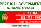 Portugal Government Scholarships