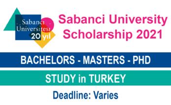 Sabanci University Scholarship
