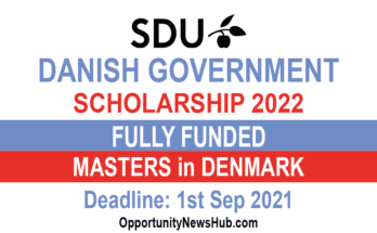 Danish Government Scholarship