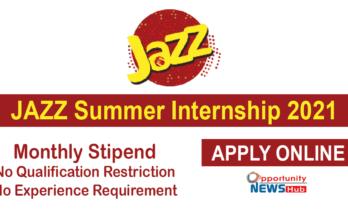 Jazz Summer Internship Program
