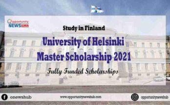 University of Helsinki Master Scholarships