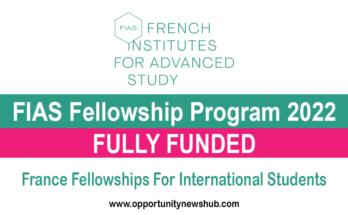 FIAS Fellowship