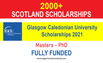Glasgow Caledonian University Scholarships