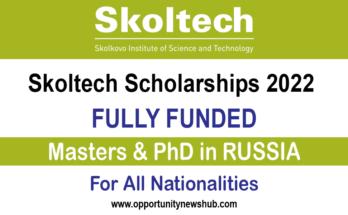 Skoltech Scholarships