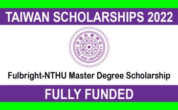 Fulbright-NTHU Master Degree Scholarship