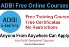 ADBI Free Online Courses