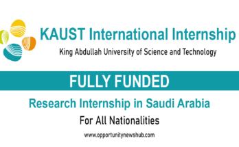 KAUST International Internship