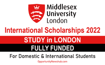 Middlesex University Scholarships