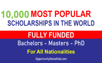 Most Popular Scholarships in the World