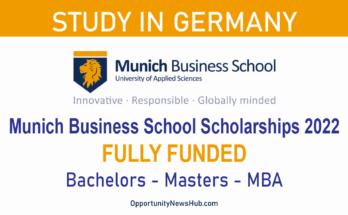 Munich Business School Scholarships