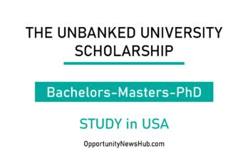 Unbanked University Scholarship
