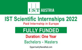 IST Scientific Internship in Austria