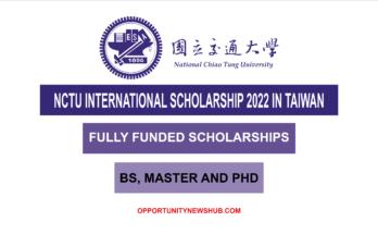 NCTU International Scholarships