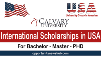 Calvary University ScholarshipsUSA