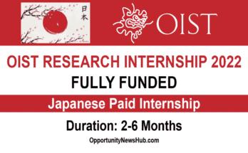 OIST Research Internship Program 2022
