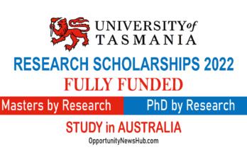 University of Tasmania Scholarships