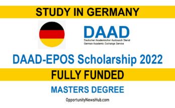 DAAD EPOS Scholarship