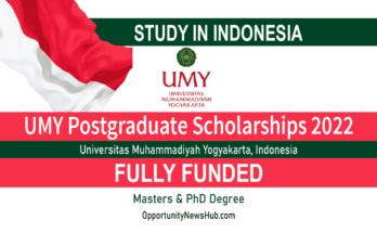 UMY Postgraduate Scholarships