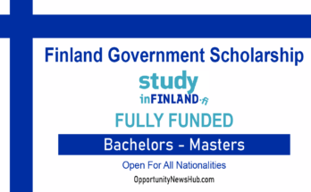 Finland Government Scholarship 2022