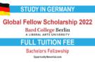 Global Fellow Scholarship 2022