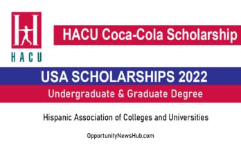 HACU Coca-Cola Scholarship 2022