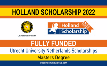 Holland Scholarship 2022